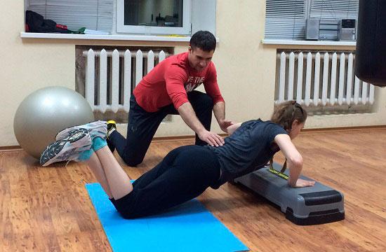 Задача тренера по фитнесу