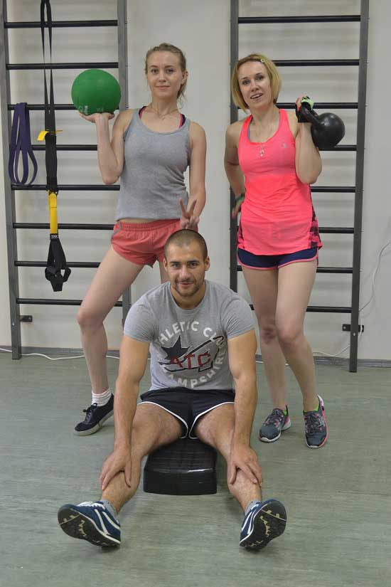фитнес студия Алексея Динулова