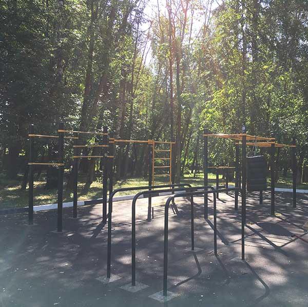 Тренировки в парке