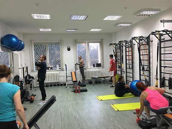 фитнес зал в Сергиевом Посаде